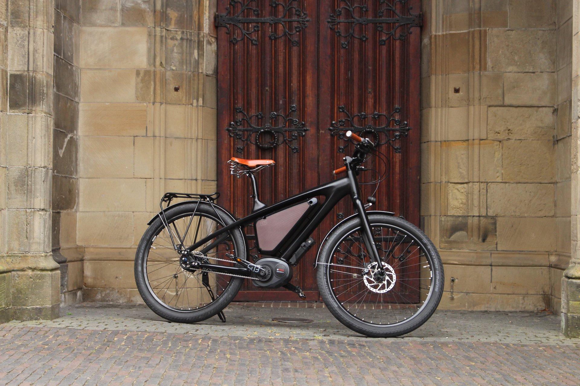 Stylish electric bike | Commuter bicycle
