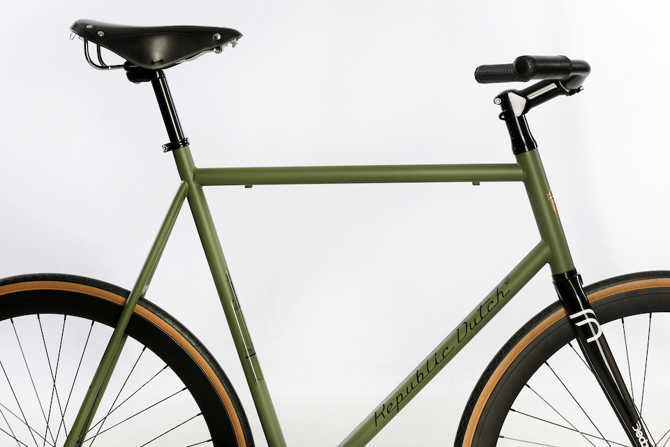 Quality fixed bicycle | fixie from steel