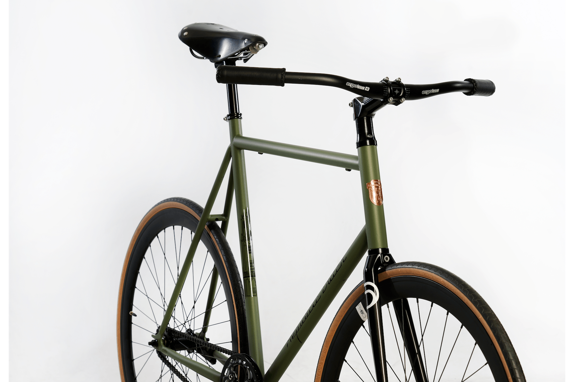 Single speed bike | City cruiser | Handmade in Holland