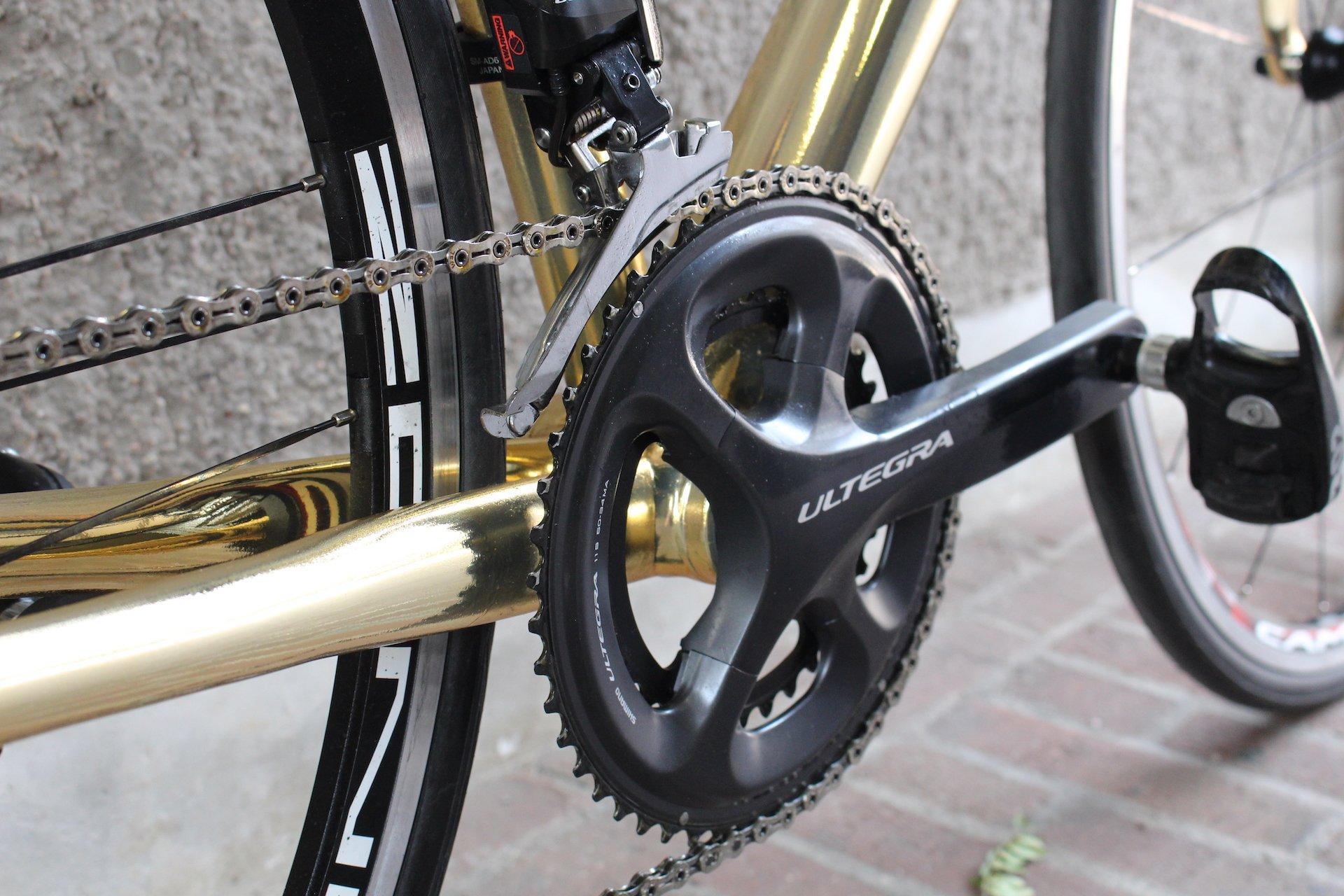 Racefiets gemaakt in Utrecht Nederland