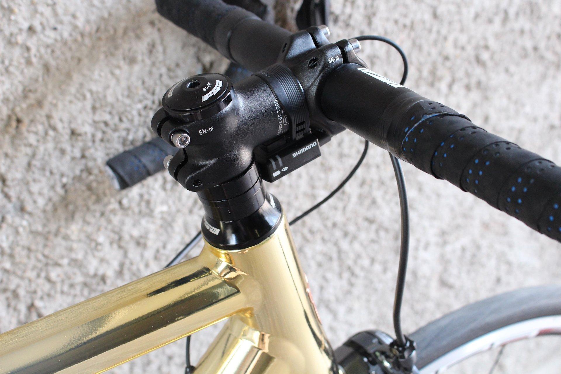 Racefiets | Wielrennen | Fiets op maat | Gouden fiets