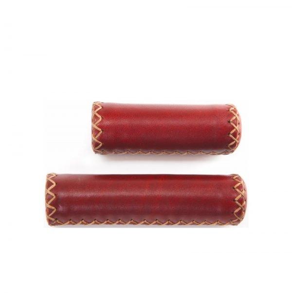 Leather Handlebar grip | Brown 125-92