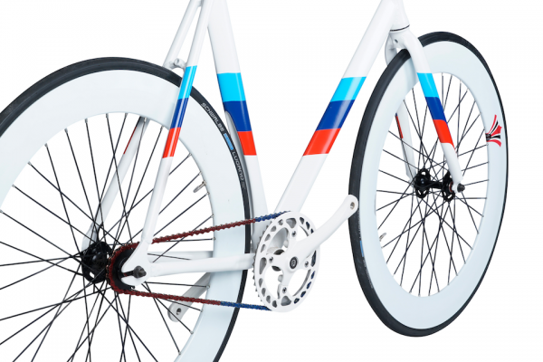 Sport bicycle made from aluminium