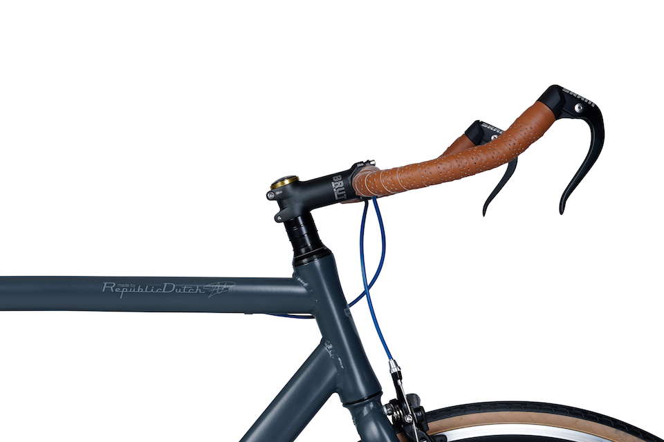 Sport bicycle with bullhorn bar