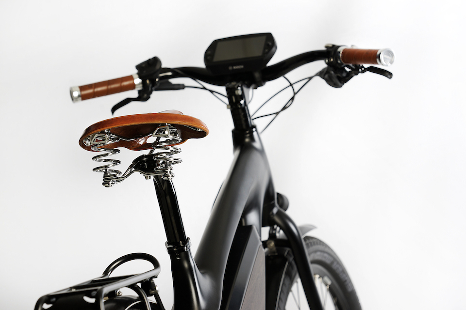 Electric bicycle hand made in the Netherlands