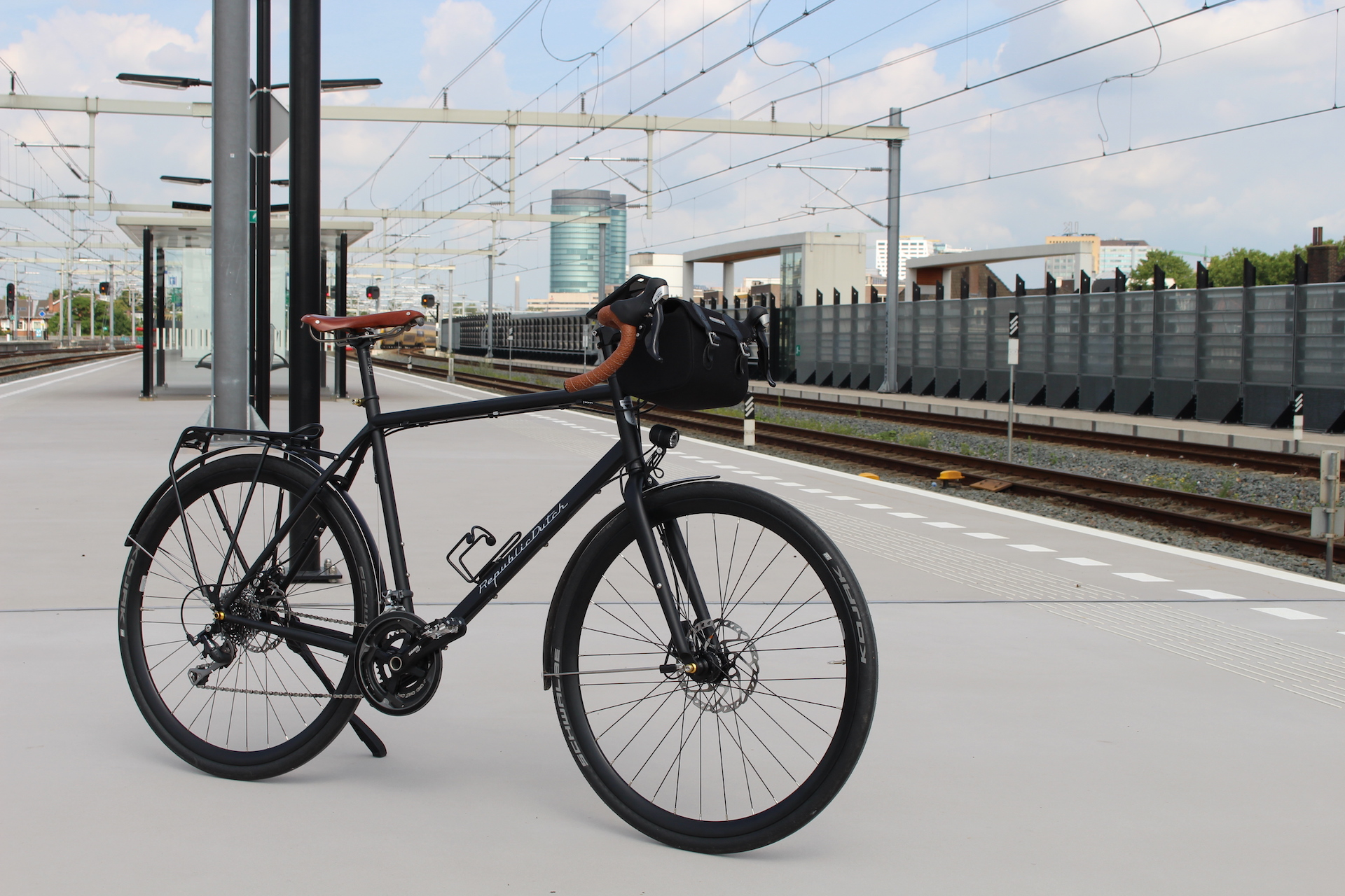 Randonneur | Dutch bicycle to travel the world