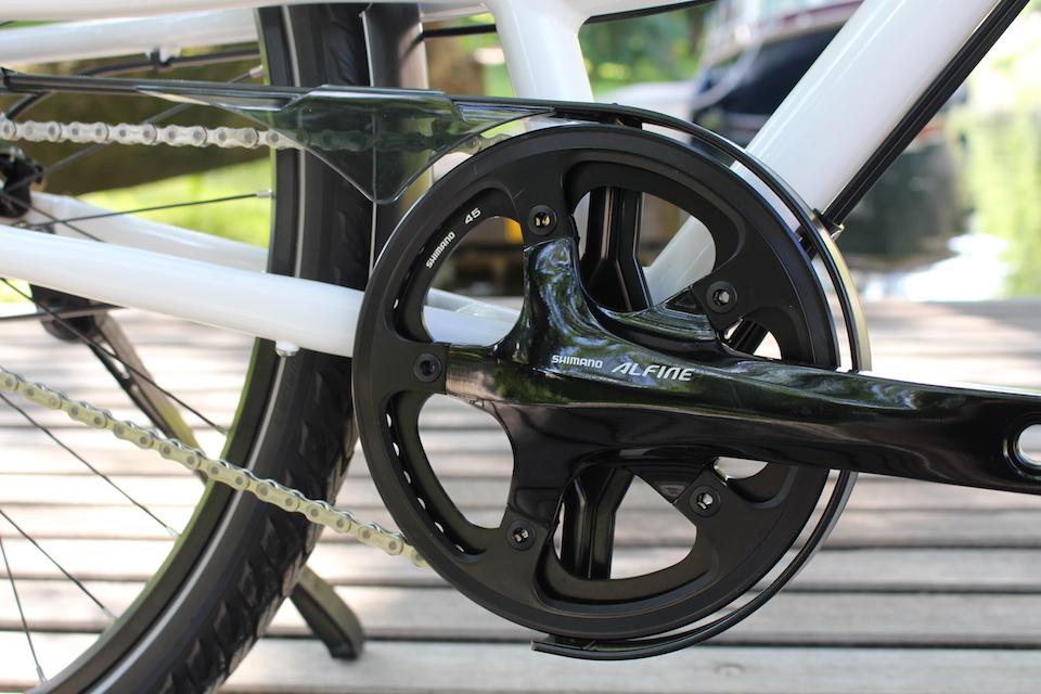 op maat gemaakte fiets | Shimano Alfine | Rohloff naaf