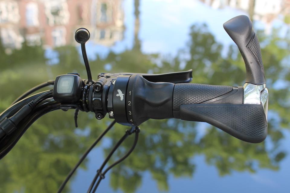 op maat gemaakte fiets | Rohloff speedhub