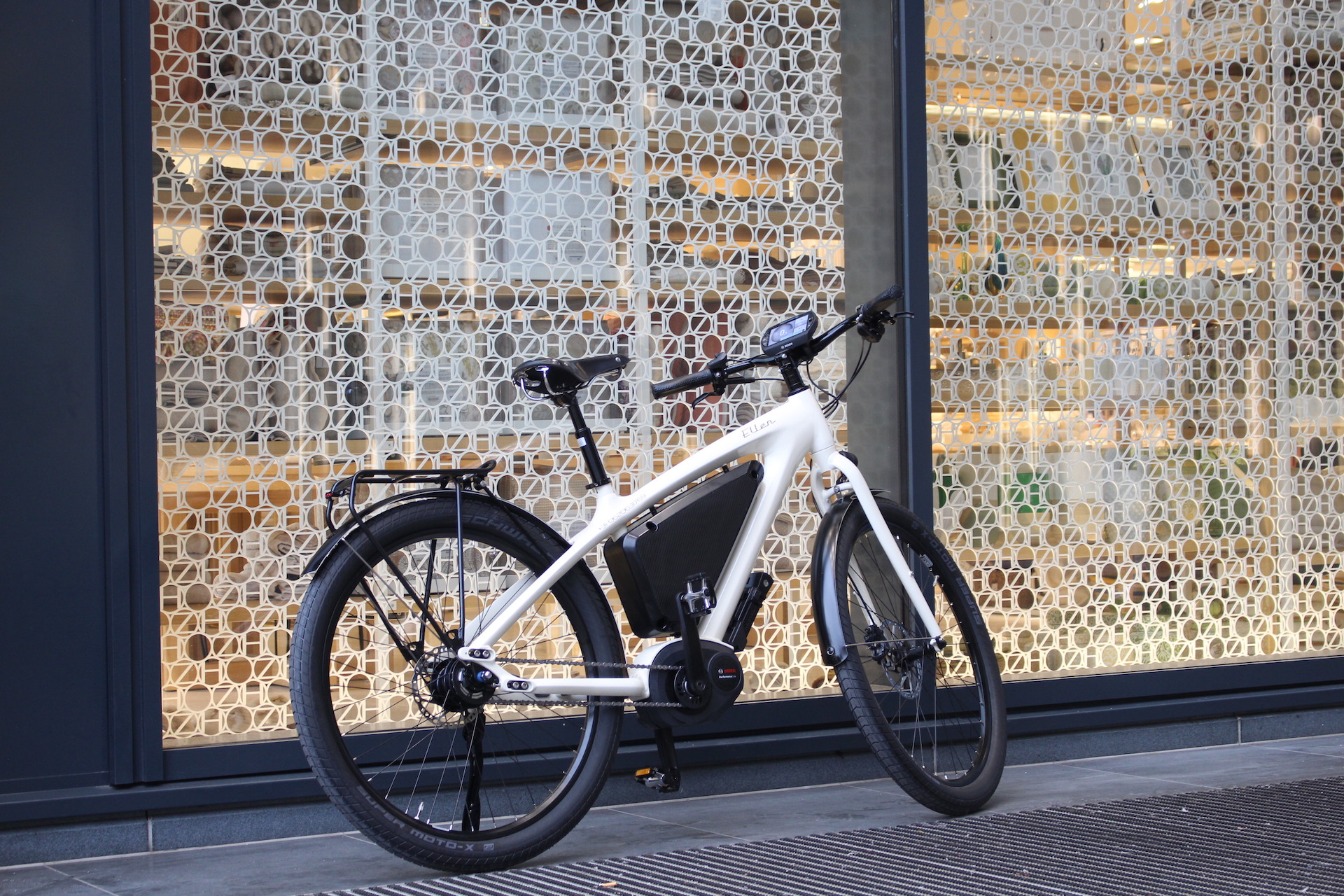 Icon E-bike for Lady | Glossy White | Bosch performance line