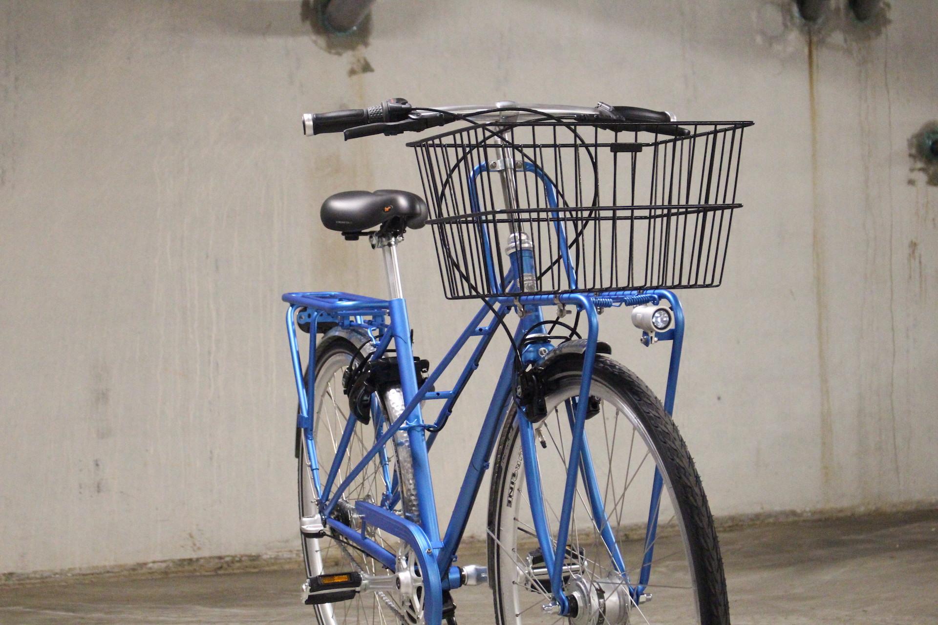 Dames fiets | Retro stijl | Met handje | Naafdynamo