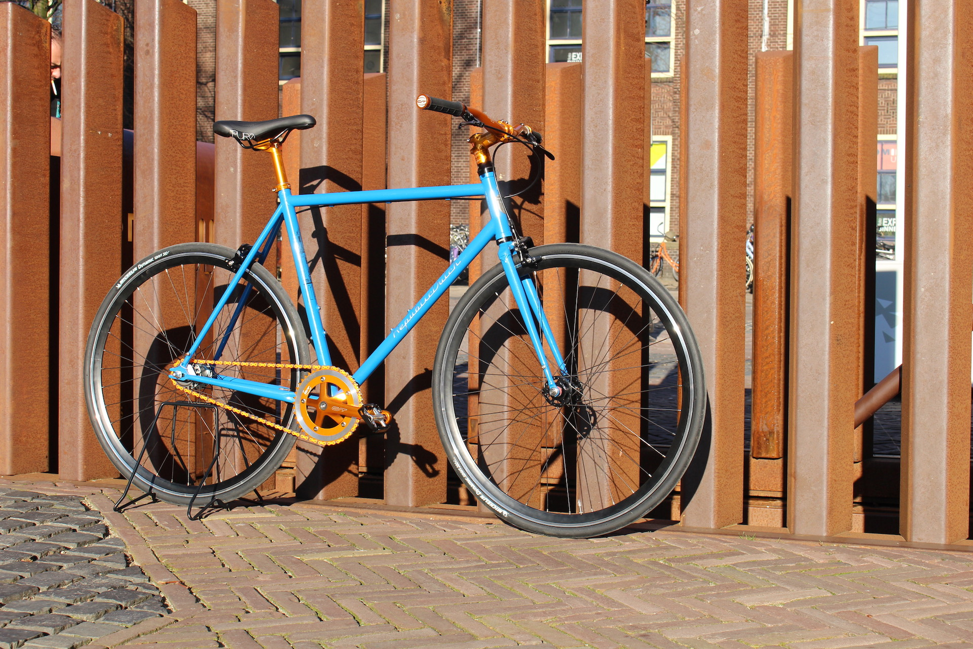 Steel single speed bicycle | commuter bike
