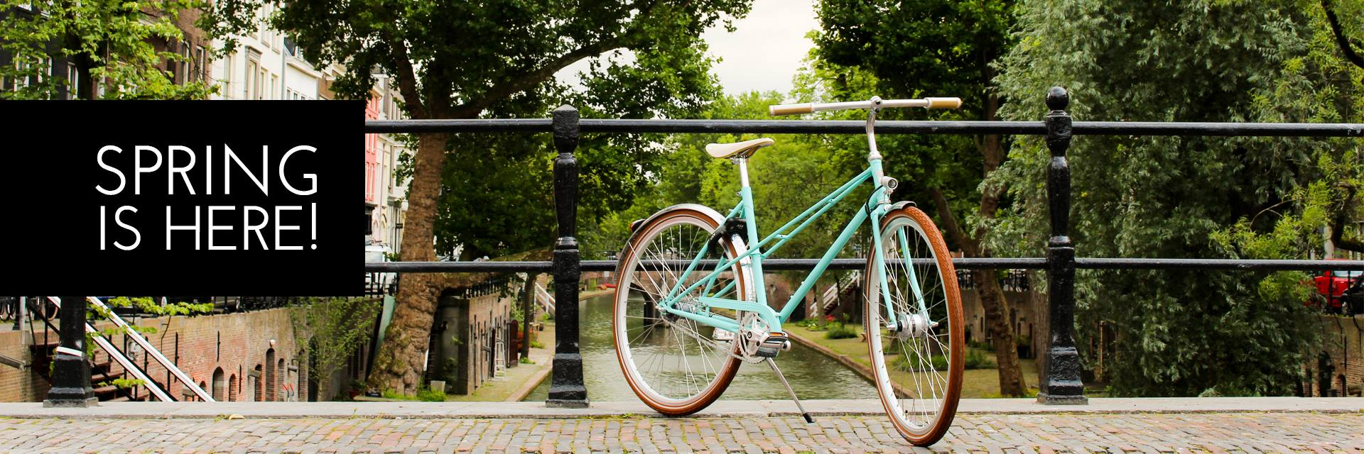 Celebrate spring with a new bike