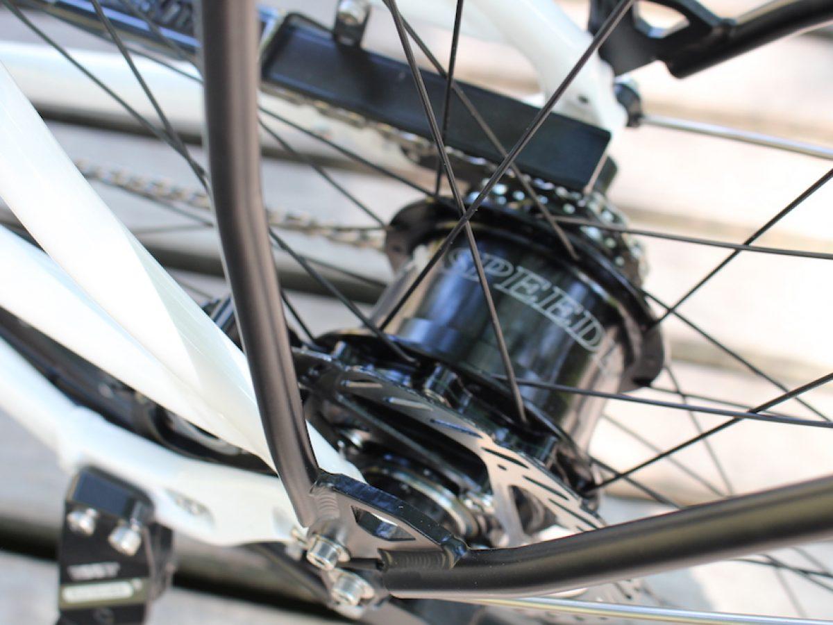Custom made bicycle   Travel the world   Rohloff
