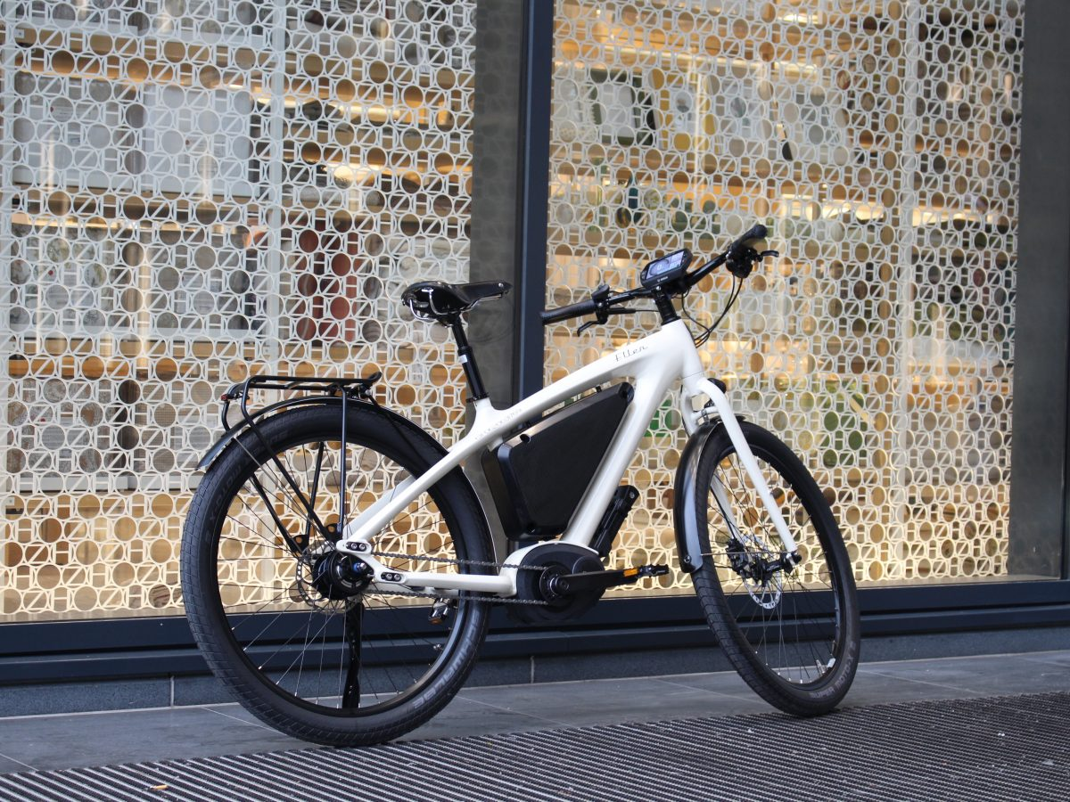 Unieke Elektrische fiets