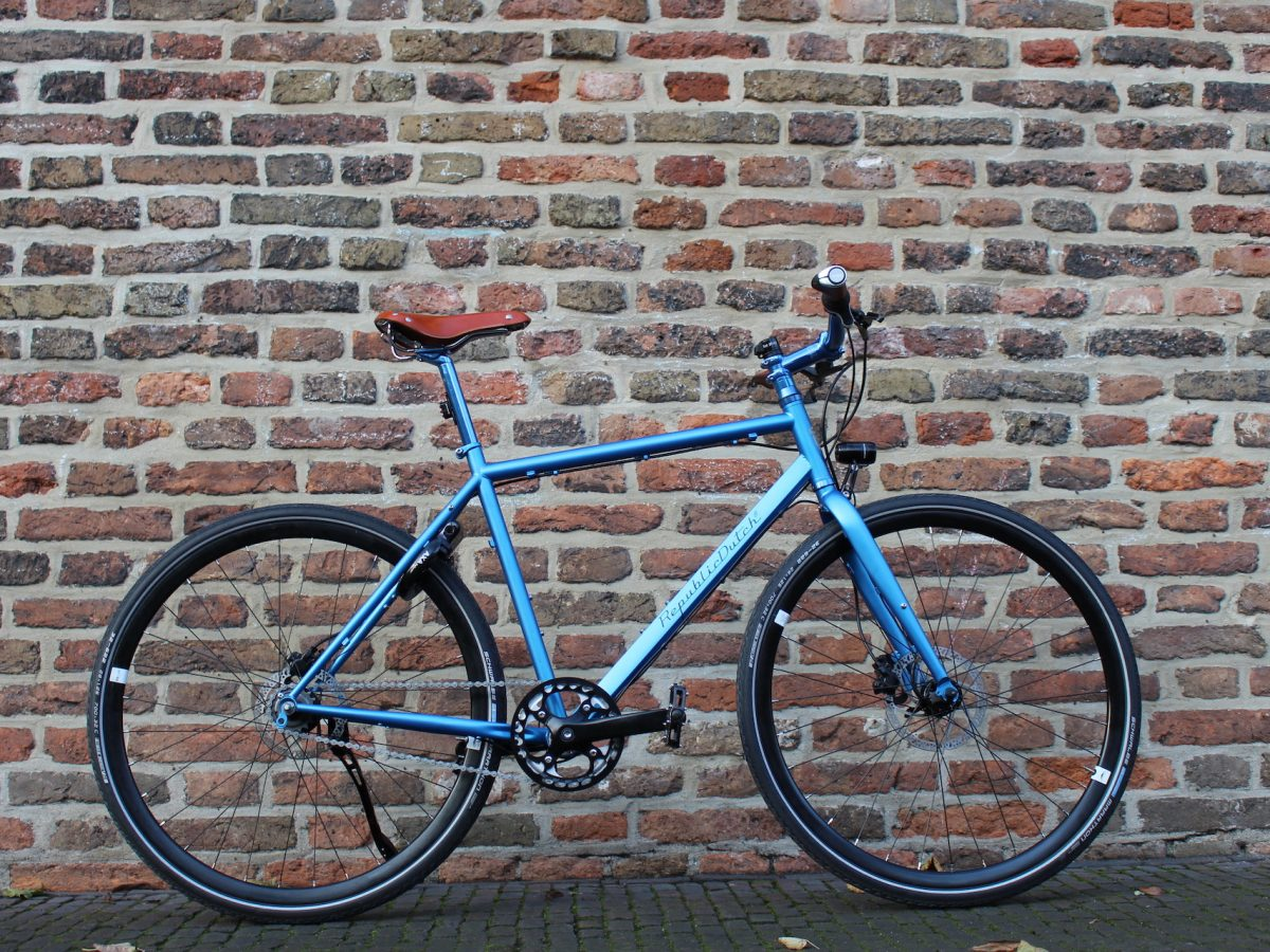Urban bicycle | Custom made out of steel | Special color